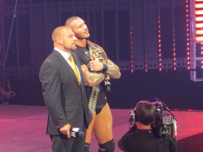HHH and Orton