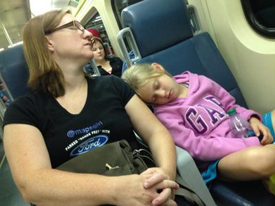 train ride home