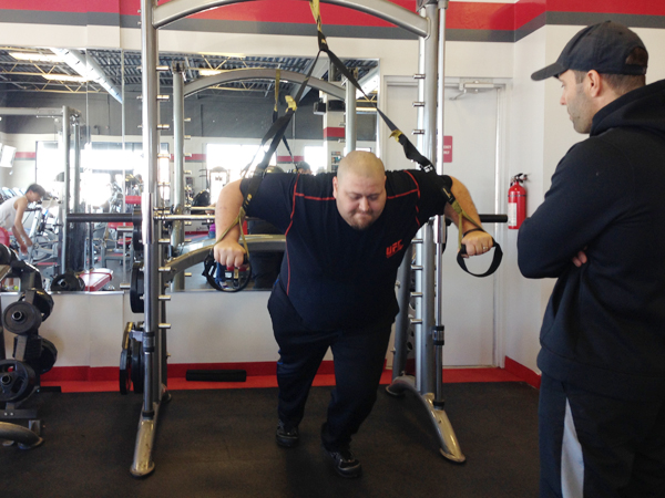 Start your day off right trx straps
