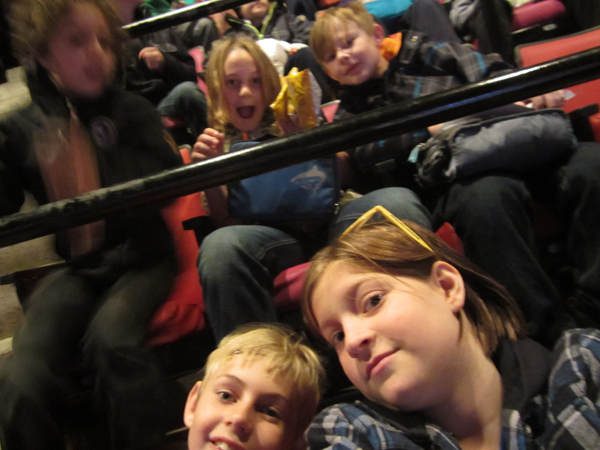 hamilton bulldogs rache with friends in stands