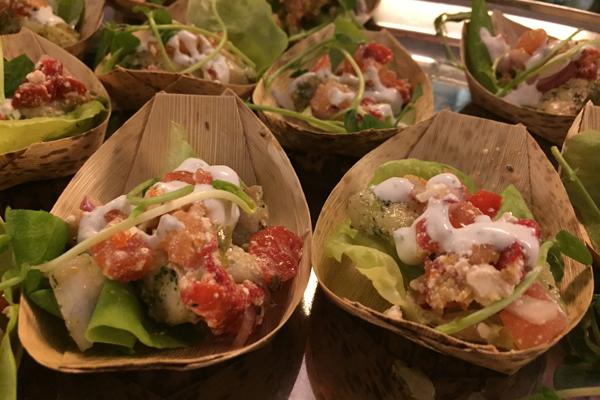 09 taste of burlington ivy bar grilled grouper