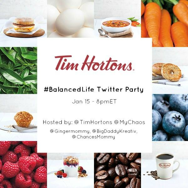 balanced life twitter party promo