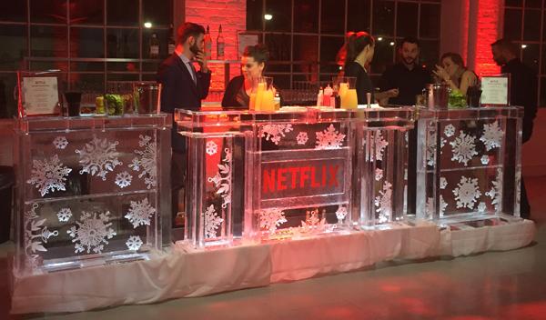 A Very Murray Christmas Ice Bar