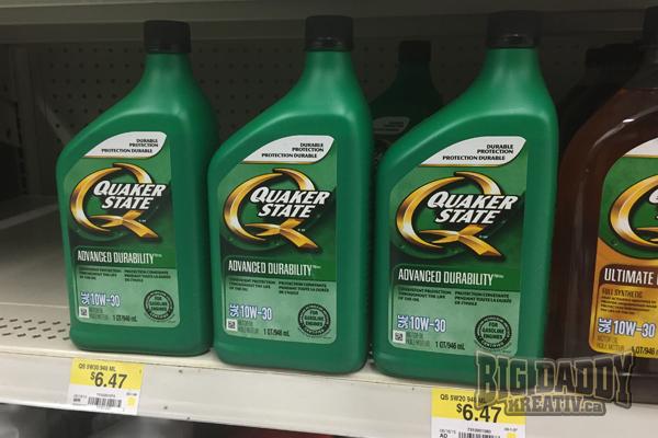 quaker state oil