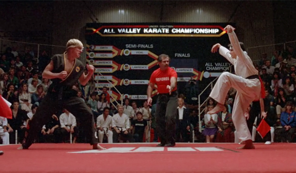 karate kid final match