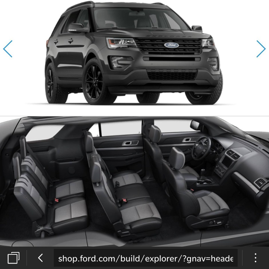 ford explorer build and price