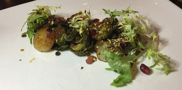 orillia st germains crispy brussel sprouts