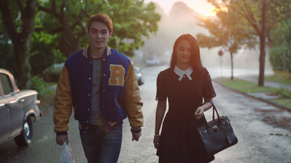 riverdale archie and veronica