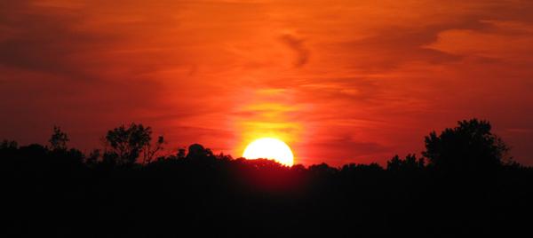 Post-Workout sunset