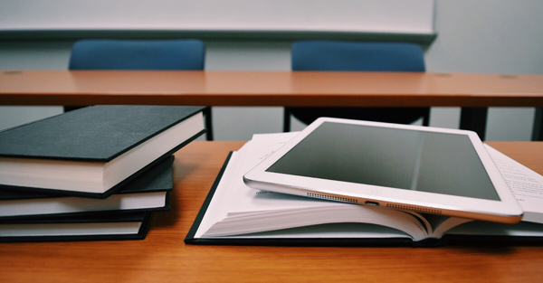 classroom tablet books