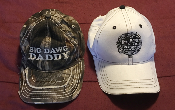 craig hats checklist