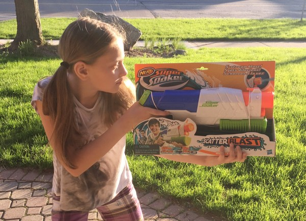 SHOPPERS LAUREN NERF SUPER SOAKER