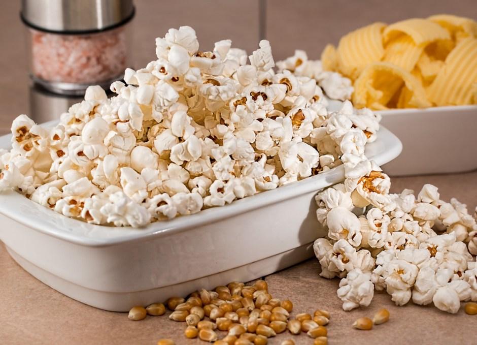 action movie marathon popcorn