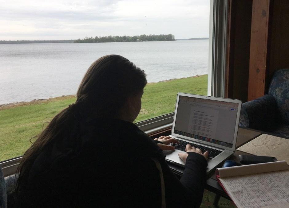 fern resort doing homework