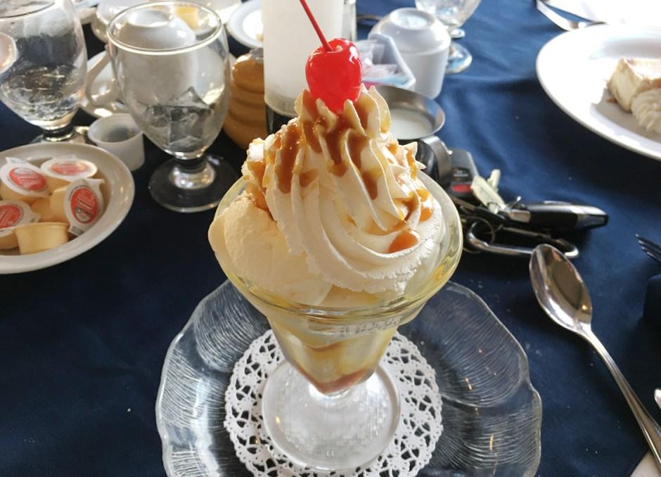 fern resort ice cream sundae