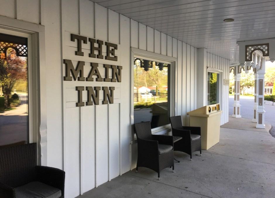 fern resort main inn sign