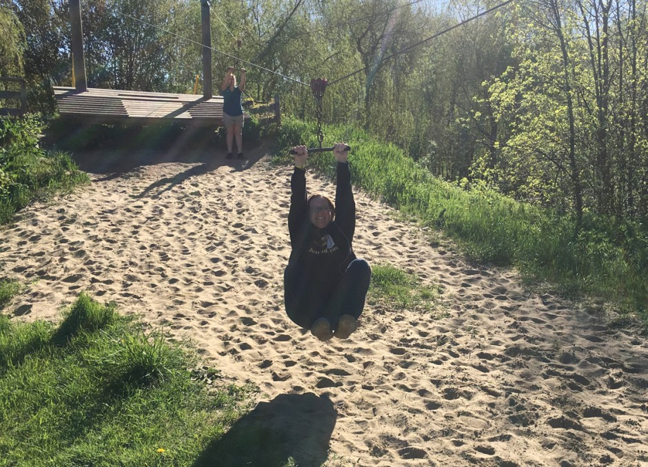fern resort wendy ziplining