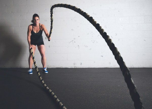 crossfit battle ropes