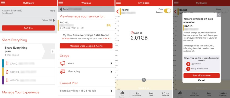 data myrogers app