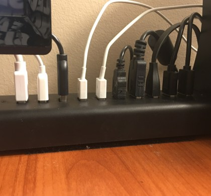 Making life easier with the AUKEY CBH18 USB Hub