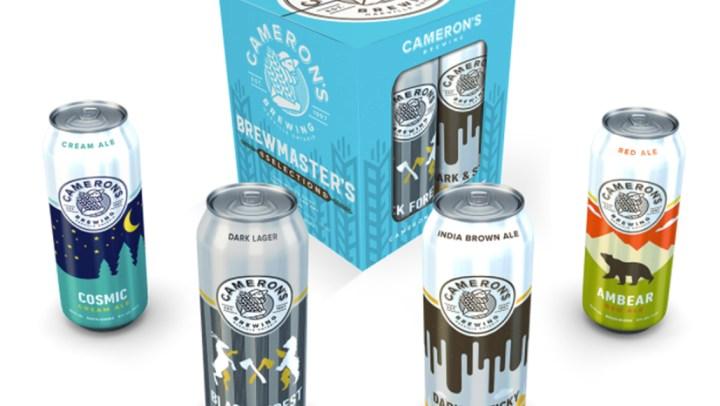 Cameron's Award-Winning Craft Brewery Celebrates 20 Years. #Camerons20 @cameronsbrewing