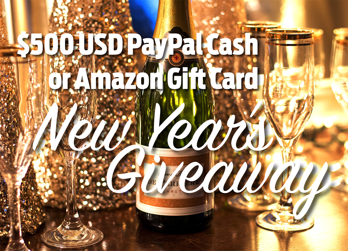new year 500 giveaway