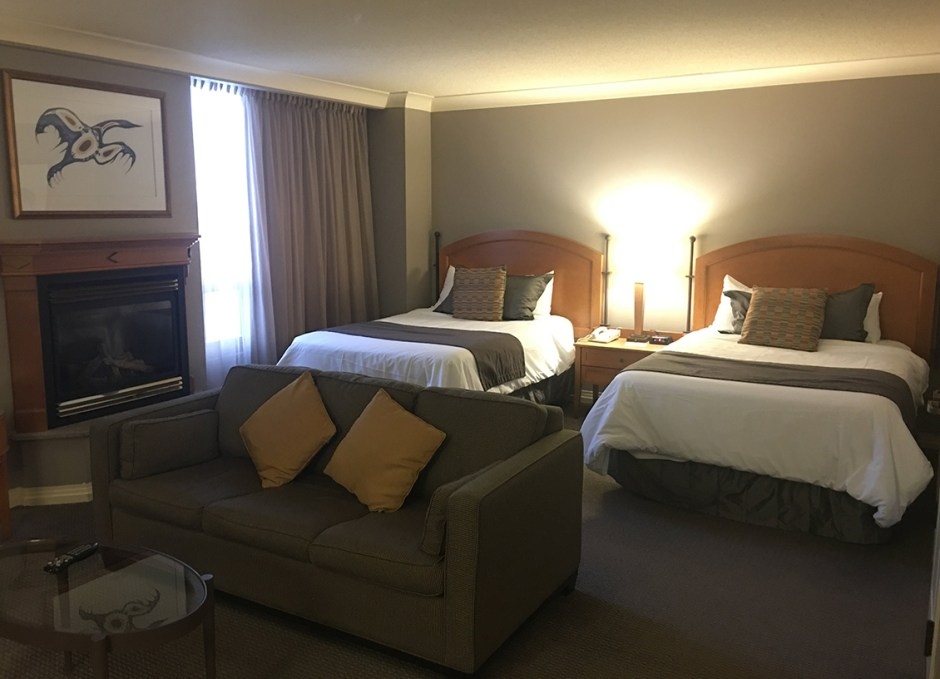 stay at casino rama our room