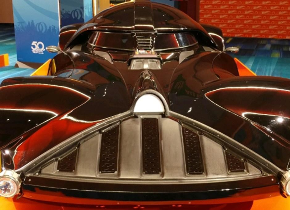 McQueen darth vadar hot wheels