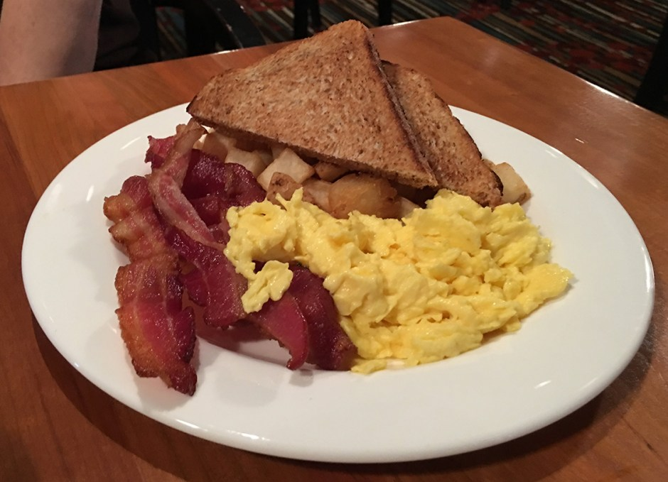 great food weirs eggs bacon