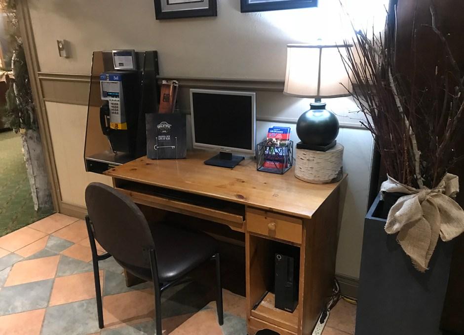 Bayview Wildwood computer desk