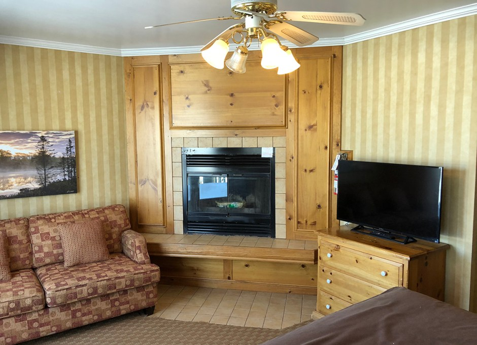 Bayview Wildwood fireplace