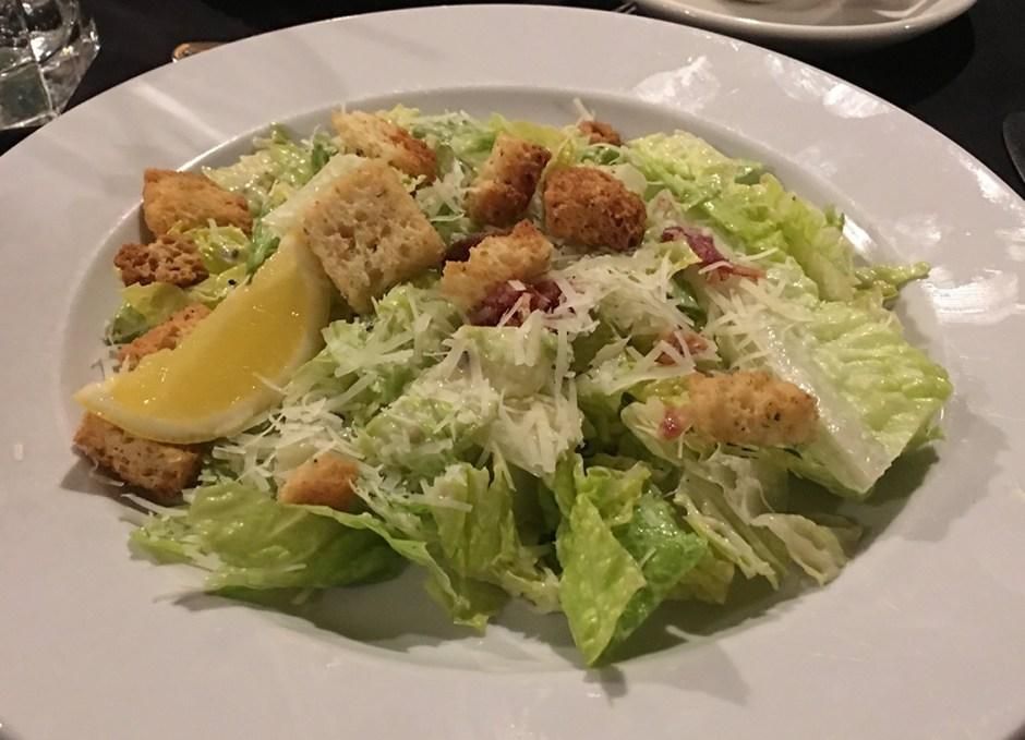 Dining Lounge caesar salad
