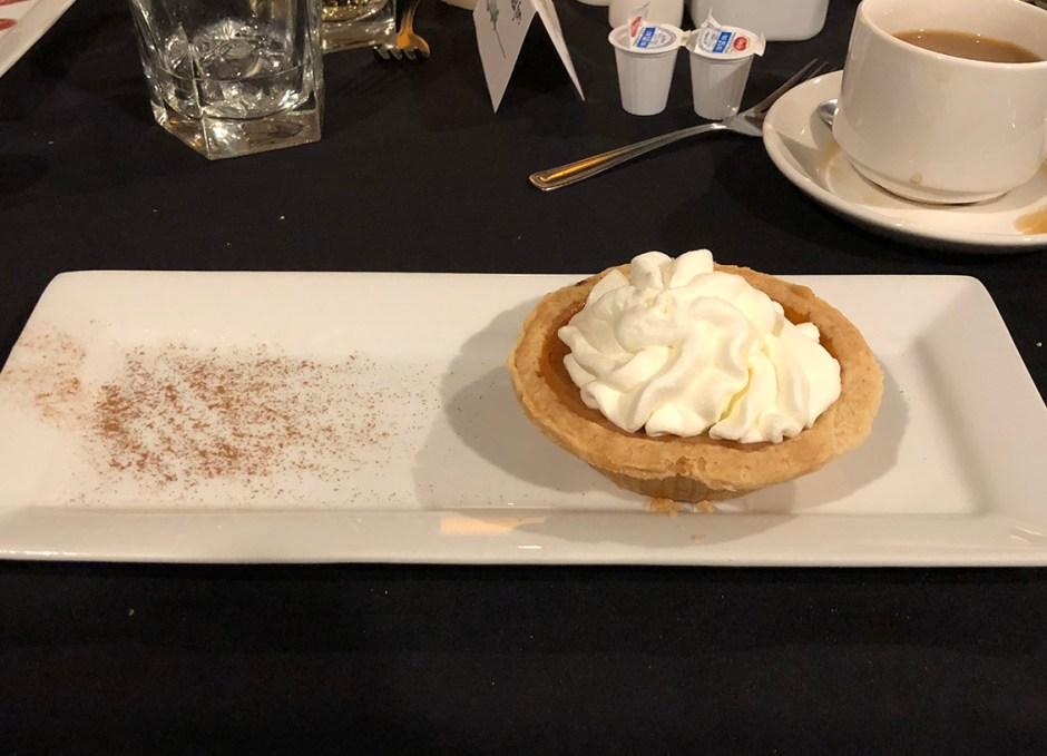 Dining Lounge pumpkin pie