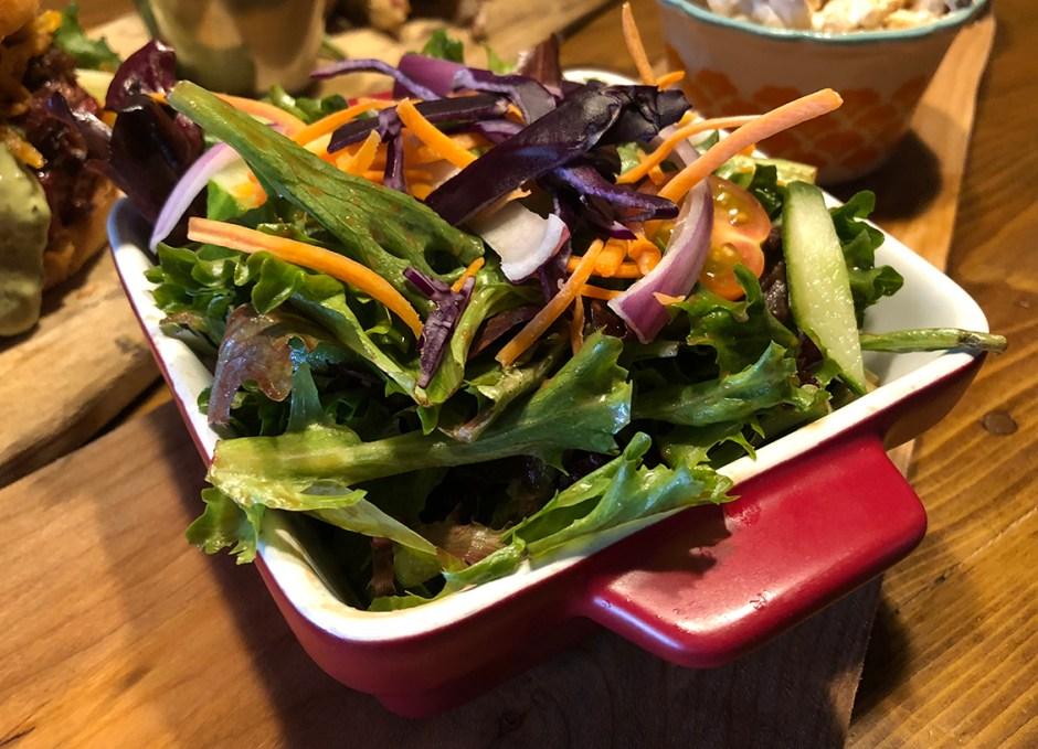 R Cottage garden salad