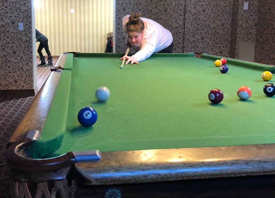 activities playing pool billiards