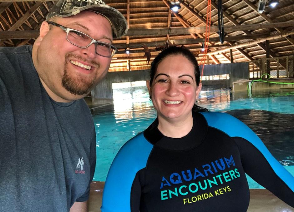 Aquarium Encounters craig and sabrina