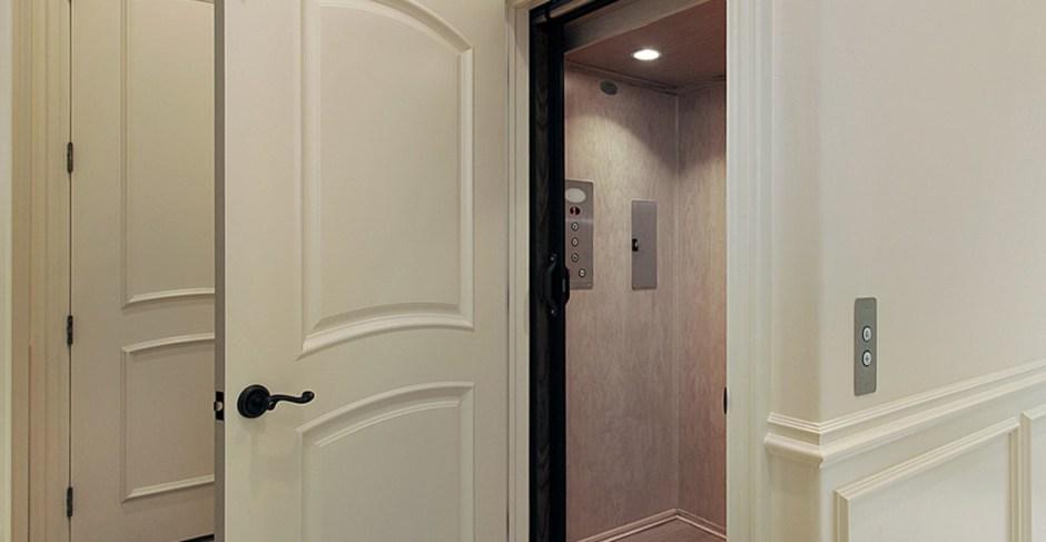 Residential Elevators open door
