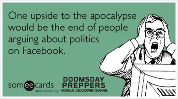 be nice politics on facebook
