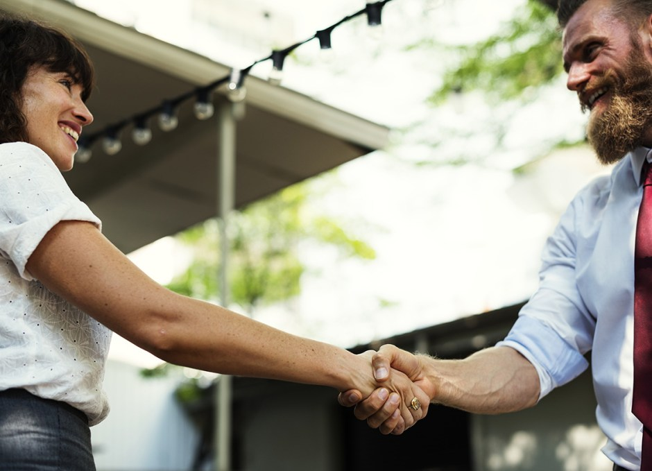 whiten teeth handshake