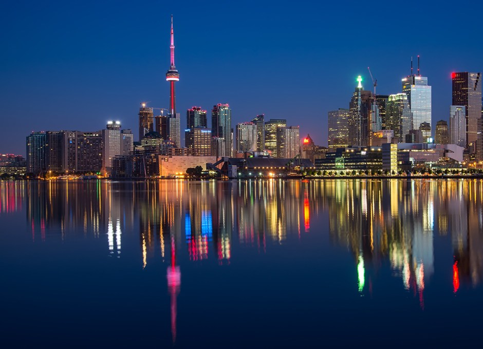 toronto from water
