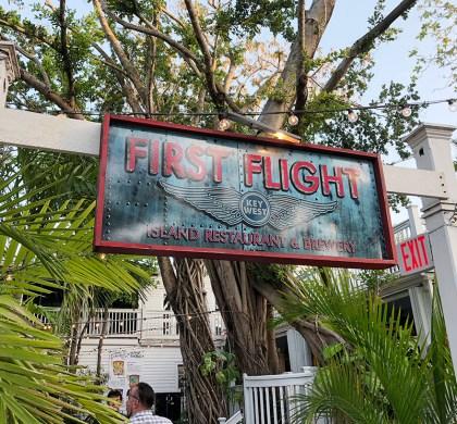Florida Keys: Enjoying Garden Canopy Dining at First Flight. #ad #FloridaKeys #bdkFloridaKeys