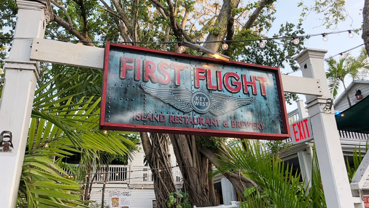 Florida Keys: Enjoying Garden Canopy Dining at First Flight. #ad #FloridaKeys #bdkFloridaKeys