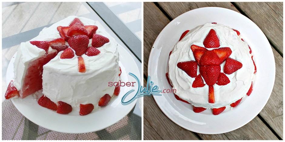 canada day desserts 1 Watermelon Cake