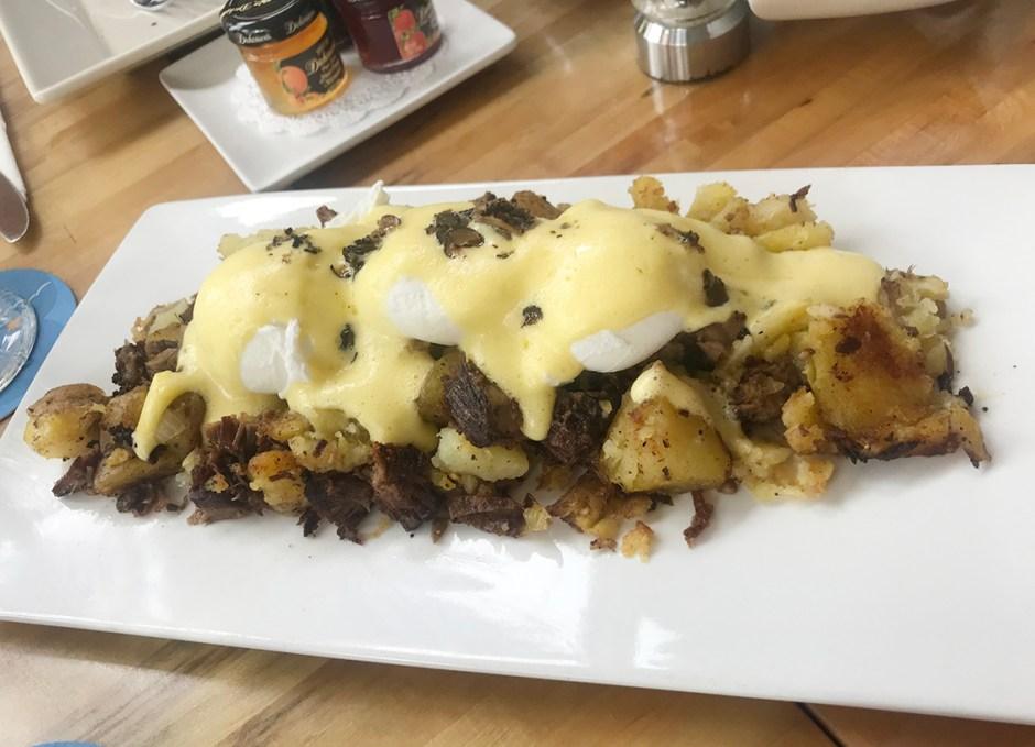 Azur braised beef hash