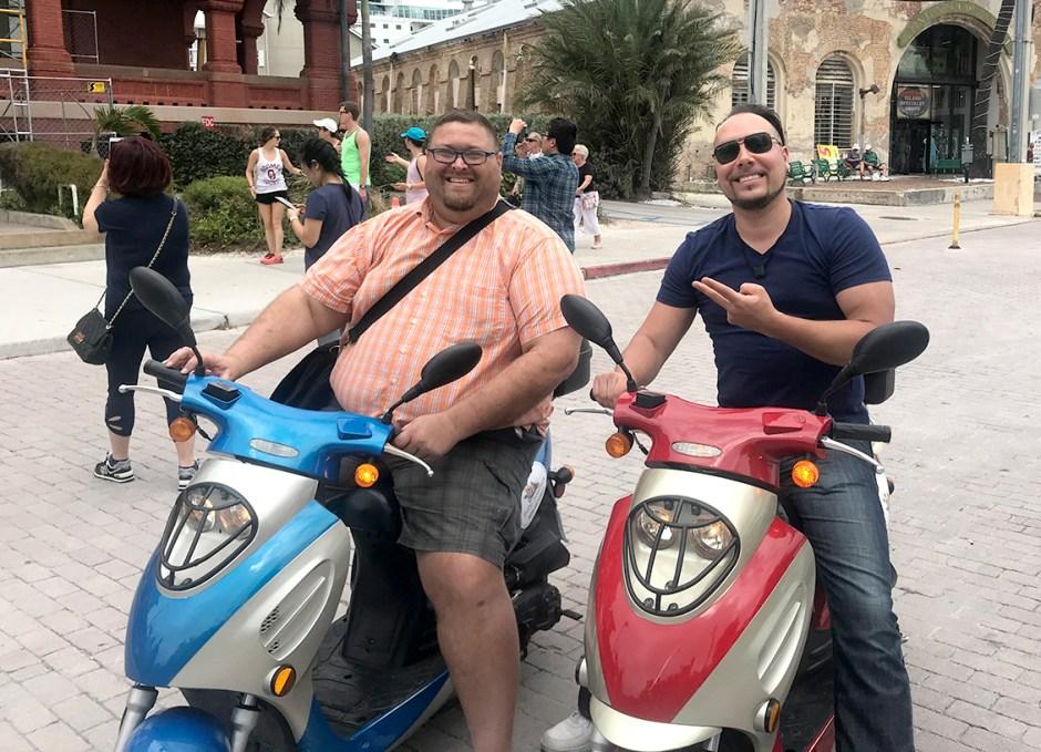 Get Around Key West scooters