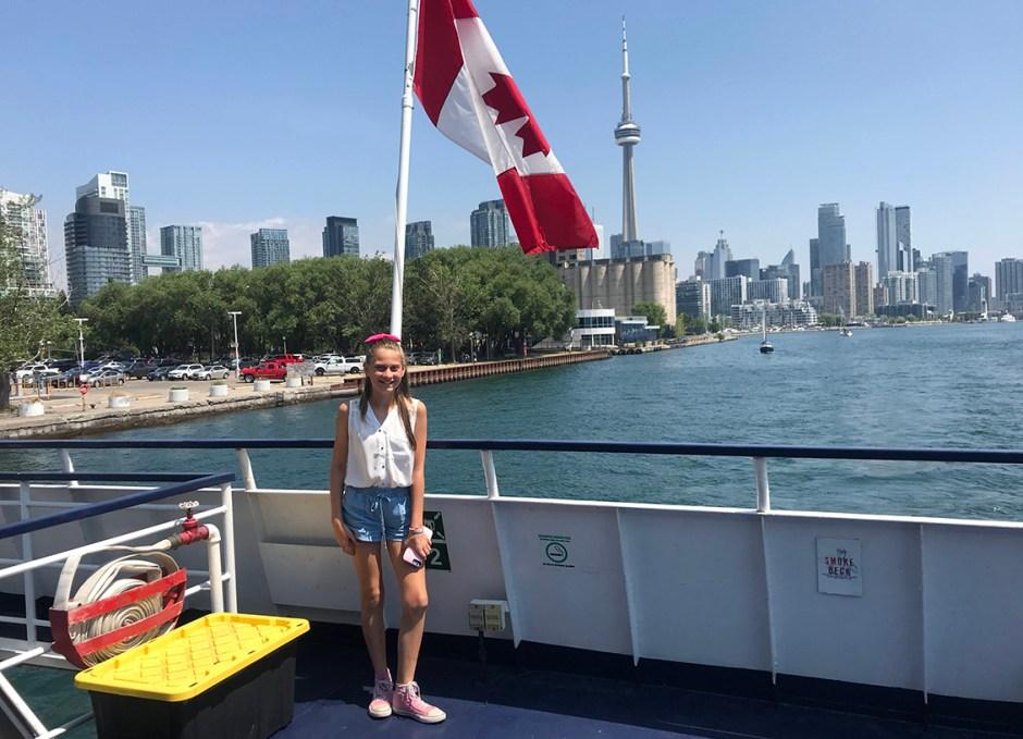Northern Spirit Lauren Canada flag