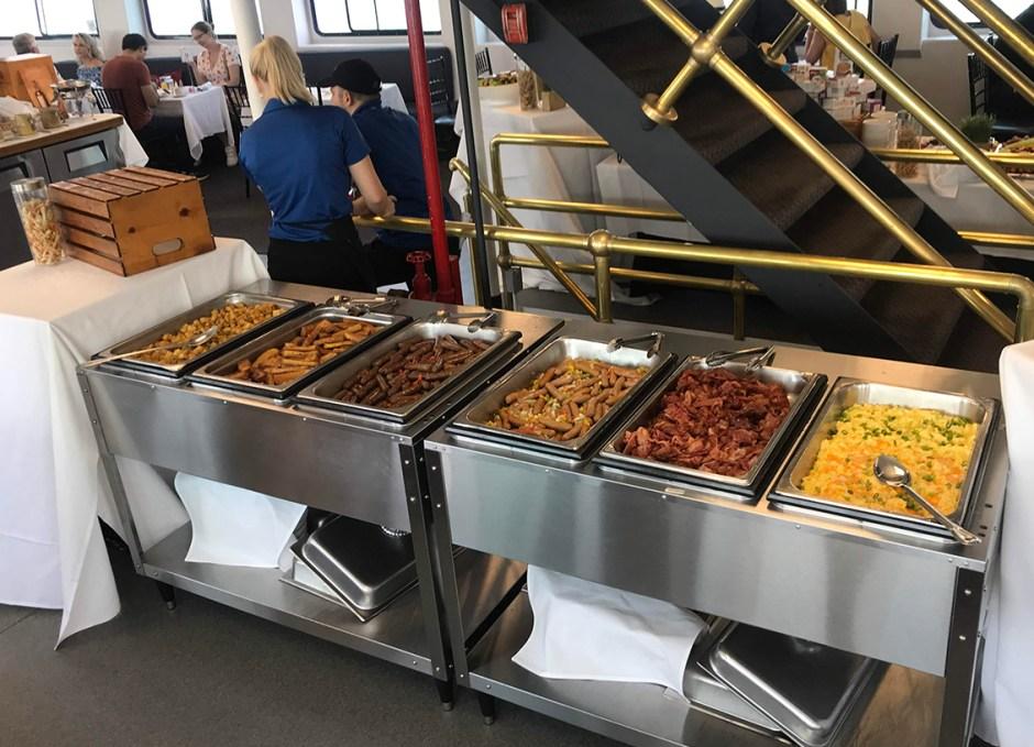 Northern Spirit hot buffet