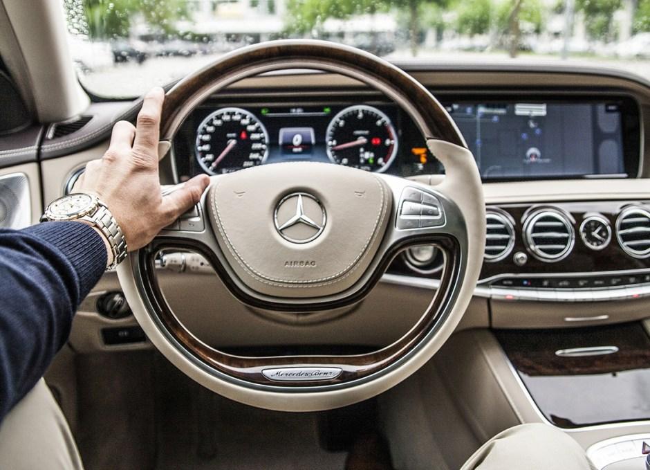 Salvage steering wheel