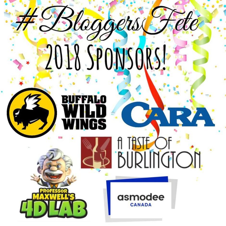 bloggers fete more sponsors