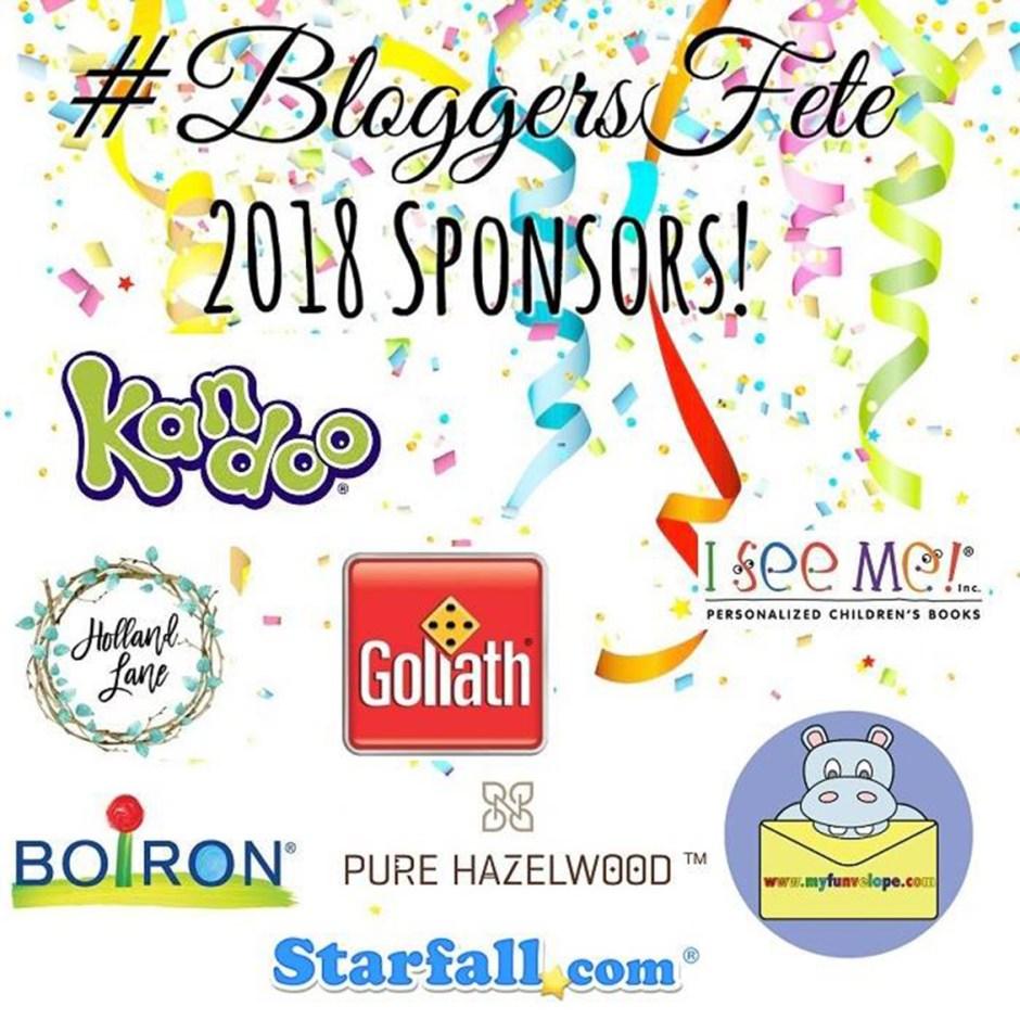 bloggers fete sponsors